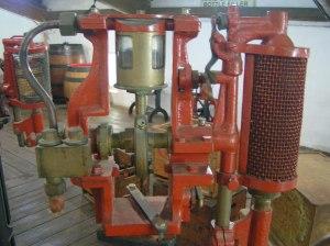 Old Beer bottling equipment