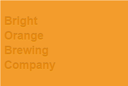 Bright Orange Brewing Company